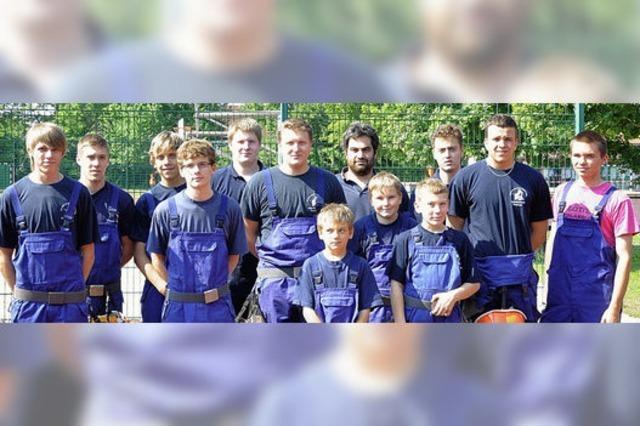 Jugendwehr verteidigt Wanderpokal