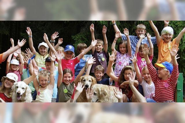 Fünf Wochen Ferienspaß für Kinder