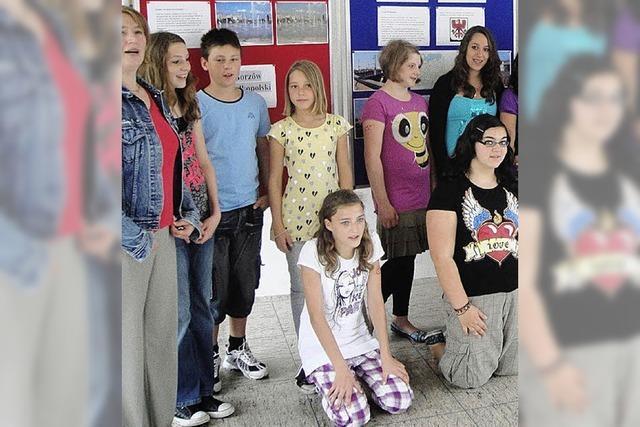Freunde in Polen gefunden