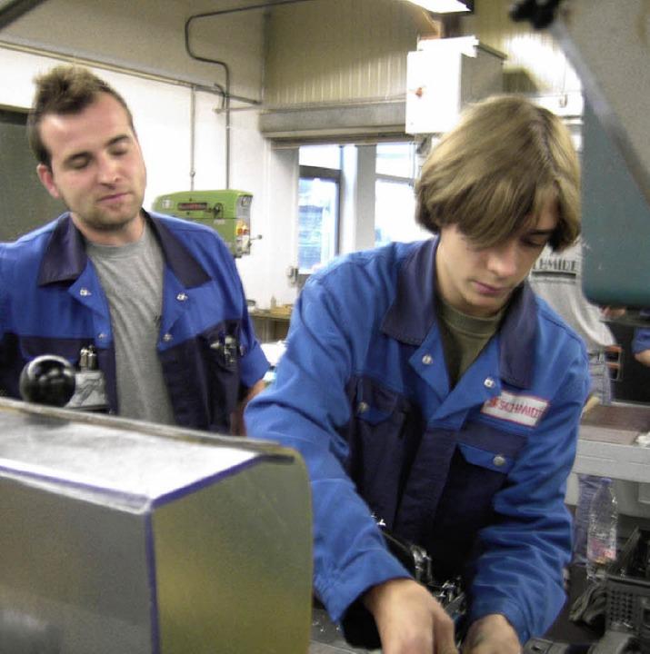 Praktika in Firmen zählen am BIZ zur Berufsorientierung.  | Foto: Schule