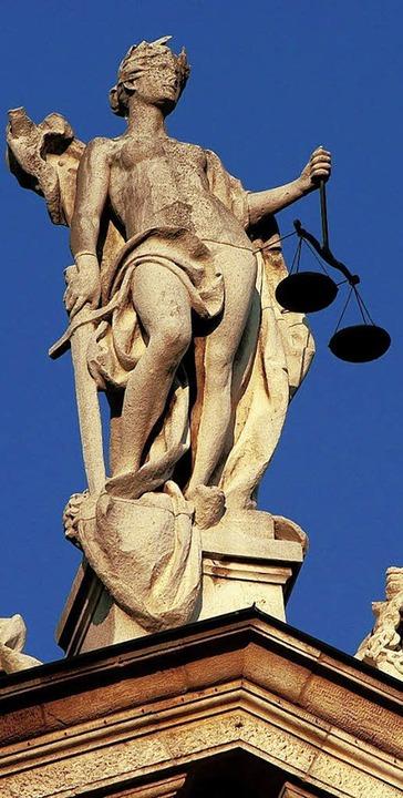 In der kommenden Woche darf hinter die Kulissen von Justitia geschaut werden.     Foto: DDP
