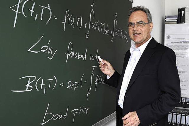 Samstags-Uni: Ernst Eberlein untersucht Finanzmärkte