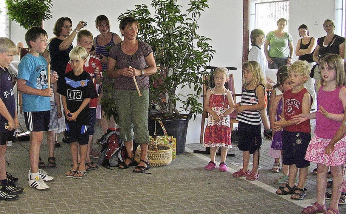Über  ein rundum gelungenes Sommerfest...ie den Gästen und  den Heimbewohnern.   | Foto: BZ