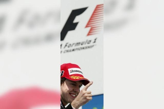Vettel will eine Siegesserie starten
