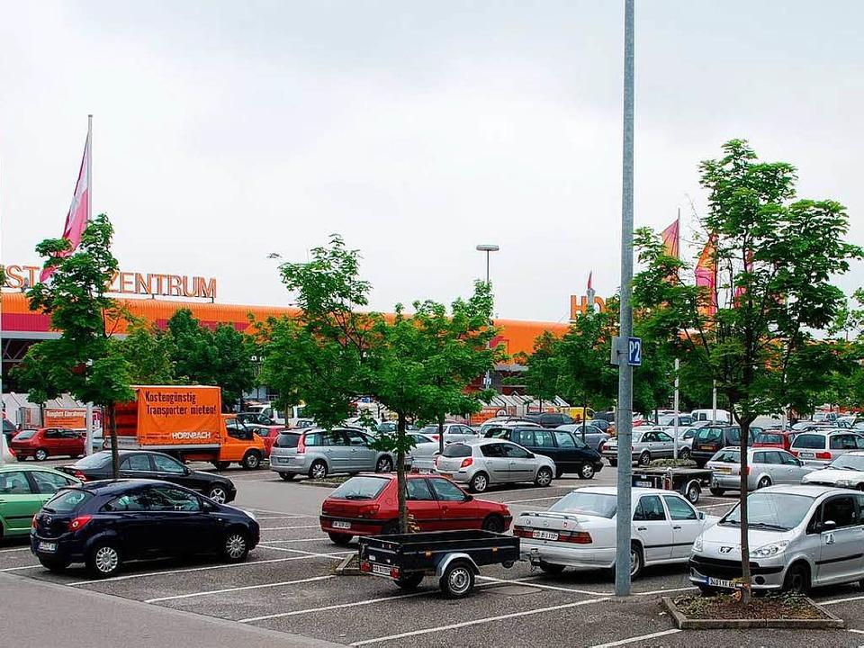 Auf diesem Parkplatz war der Zugriff d...inheit der Rauschgiftfahnder erfolgt.   | Foto: N. Sedlak