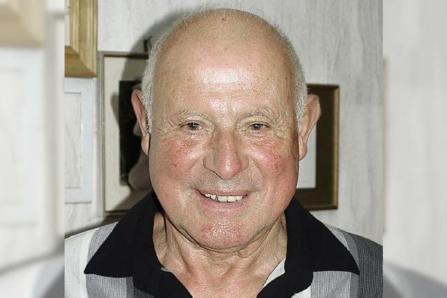 Erwin Ehrler wurde 80 Jahre