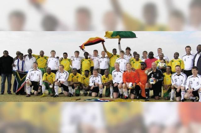 Fußball spielen und Gutes tun