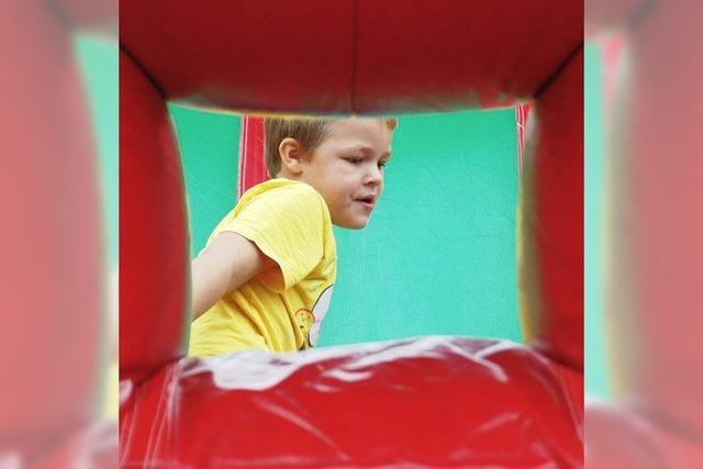 Sport, Spaß und Spiel beim Kindertag