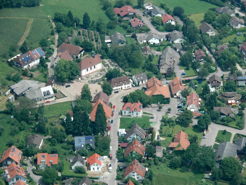 Wittnau – ein Idyll am Schönberg...a sind sich die Wittnauer ganz sicher.  | Foto: Brigitte Sasse