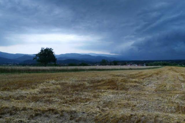 Der Breisgau vor dem Sturm