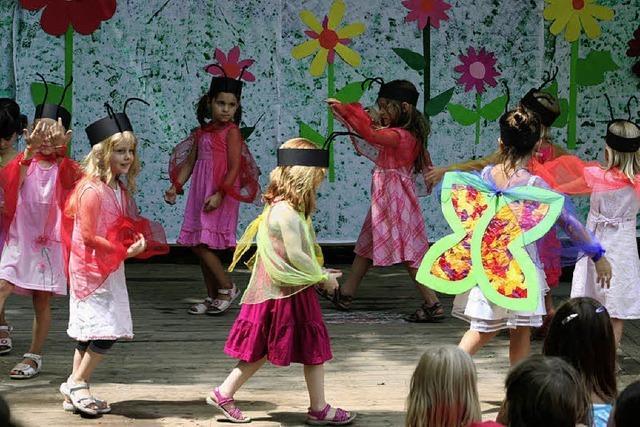 Musical im Mittelpunkt des Kindergartenfestes