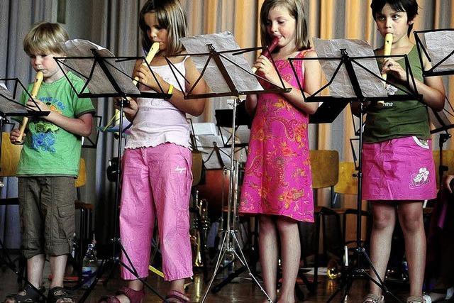 Von den Flötenkindern bis zur Jugendkapelle