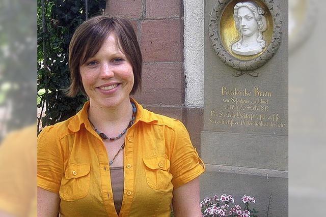 Vera Schleich ist für zwei Jahre die Vikarin