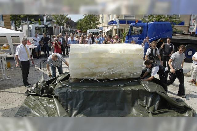 Keine 20 Prozent des Eises schmelzen