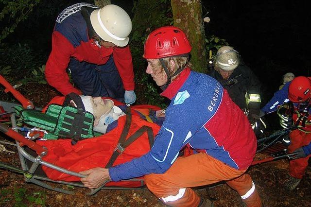 Rettungskräfte stoßen bei Übung an ihre Grenzen