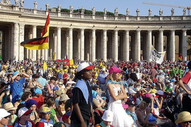 Ministranten reisen nach Rom