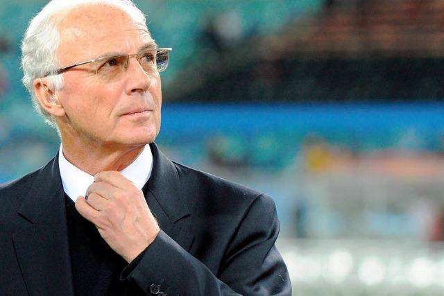 Beckenbauer fordert engen Kontakt Löw/Sammer