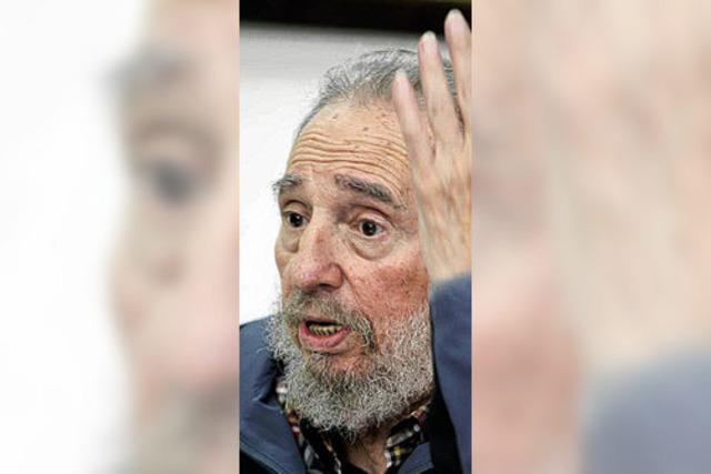 Fidel Castro im Fernsehen