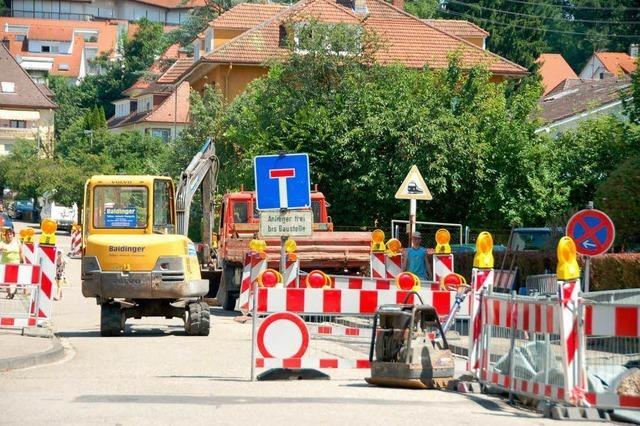 Viele Baustellen bereiten Sorgen