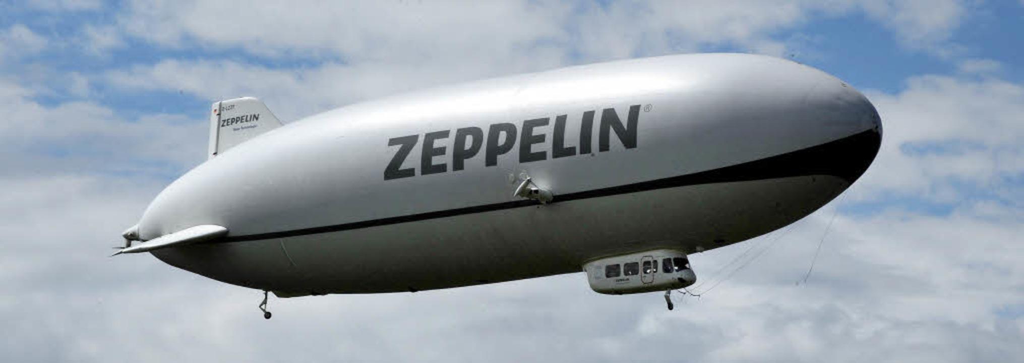 Zeppelin Fahren