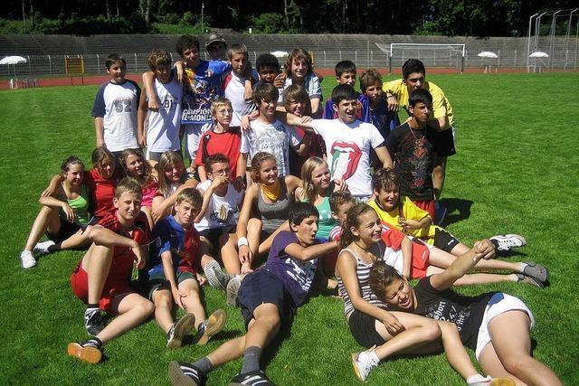 Sport und neue Freunde