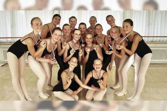 Sommermärchen für Ballettmädchen