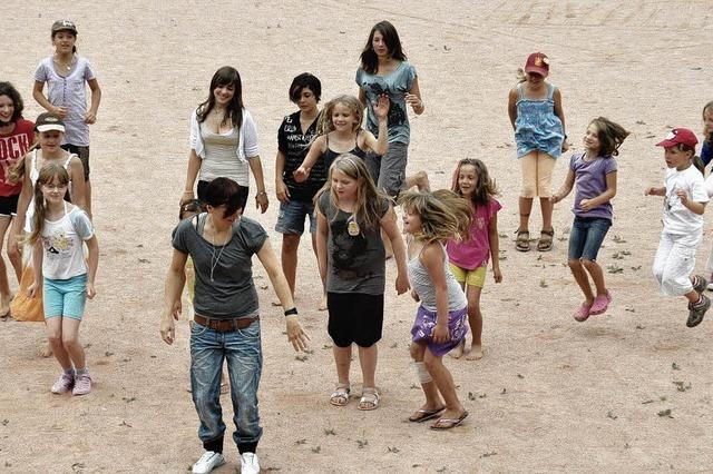 Kinder erlebten tolle Tage in der Zeltstadt