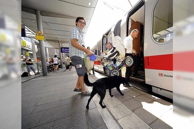 Südbadische Lässigkeit am Hauptbahnhof