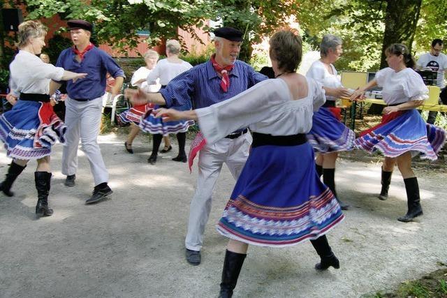 Heiße Tänze für Senioren