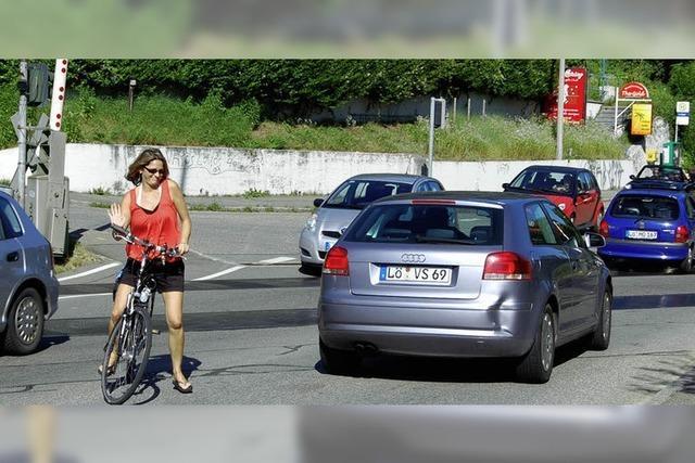 Radfahrer haben es nicht leicht