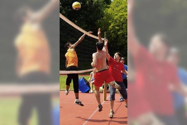 Ball überwindet Grenzen