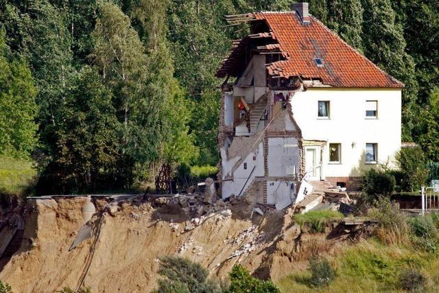 Geheime Militäranlage unweit des Nachterstedt-Erdrutsches
