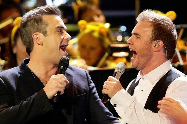 Robbie Williams zurück bei Take That