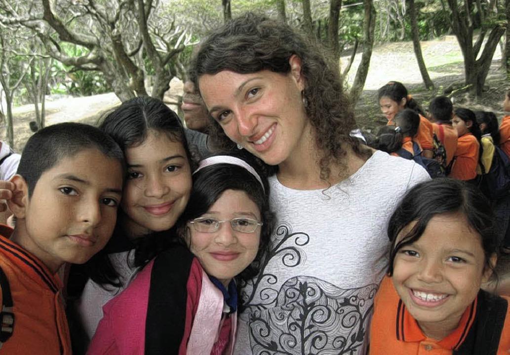Eine Gottenheimerin in  Kolumbien: Jul...hrer Zeit in Südamerika unterrichtet.   | Foto: privat