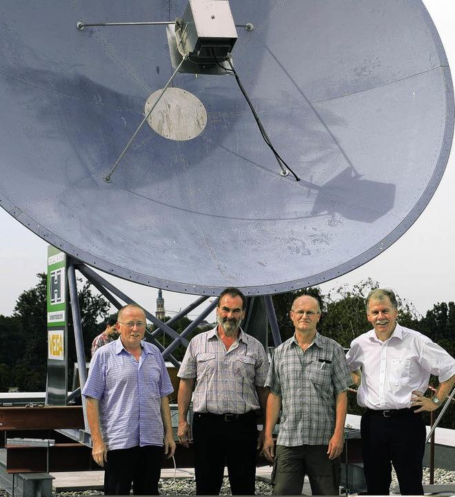 Sie bringen die Astronomie in Offenbur.... Seine Fakultät betreibt die Anlage.   | Foto: Robert Ullmann