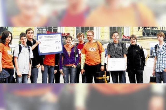 Junge Mathe-Asse heimsen mehr als 3000 Euro ein