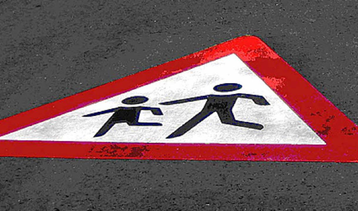 Verkehrsberuhigung: Etwas mehr als nur...der Fahrbahn soll's schon sein.   | Foto: Privat