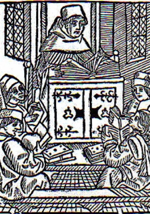 Großer Theologe des Mittelalters: Meister Eckhart lehrt   | Foto: BZ