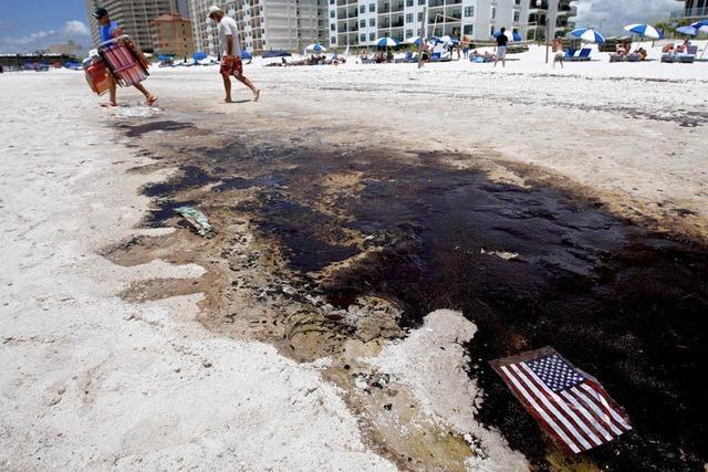 Seit drei Monaten läuft das Öl in den Golf von Mexiko