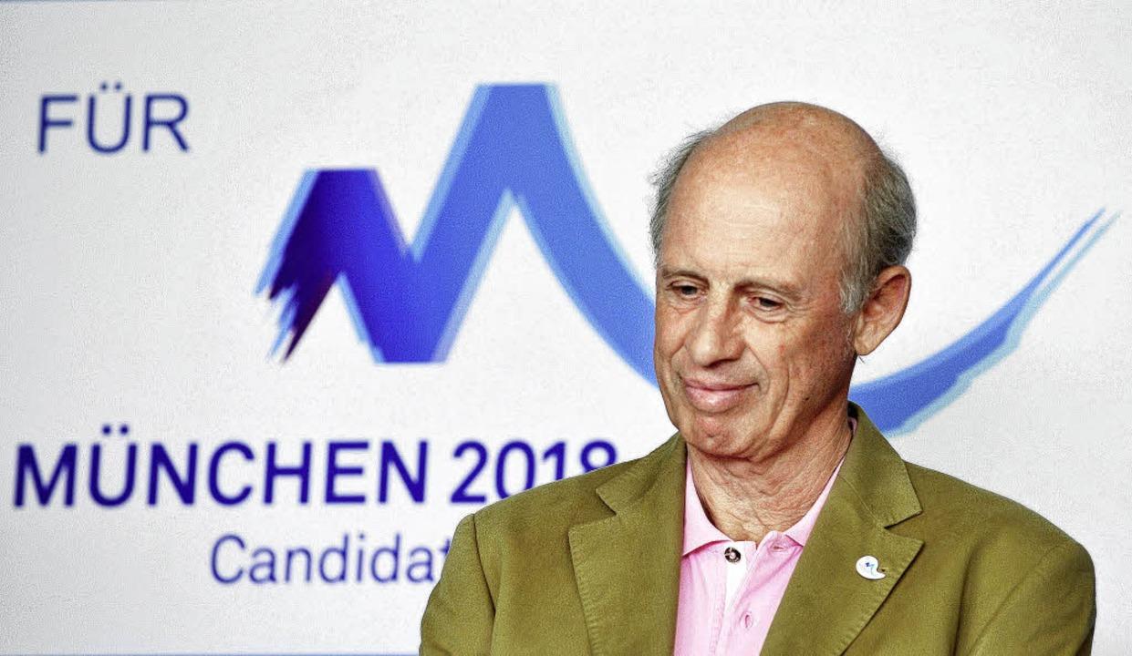 Drohte mit Rücktritt und wurde jetzt u...Olympia-Geschäftsführer Willy Bogner.   | Foto: DPA
