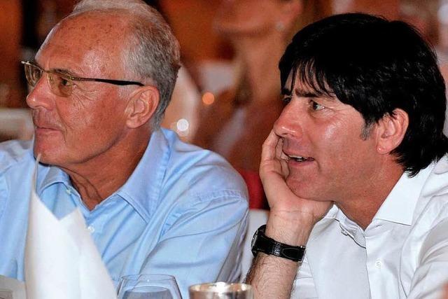 Weltmeister-Treffen: Löw schließt schnelle Einigung aus