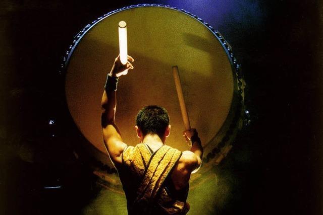DEMNÄCHST: TROMMEL-SHOW: Drummers of Japan