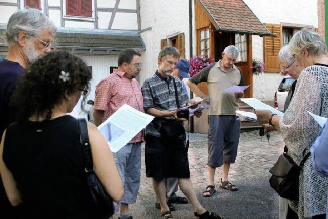 Führung durchs jüdische Ettenheim