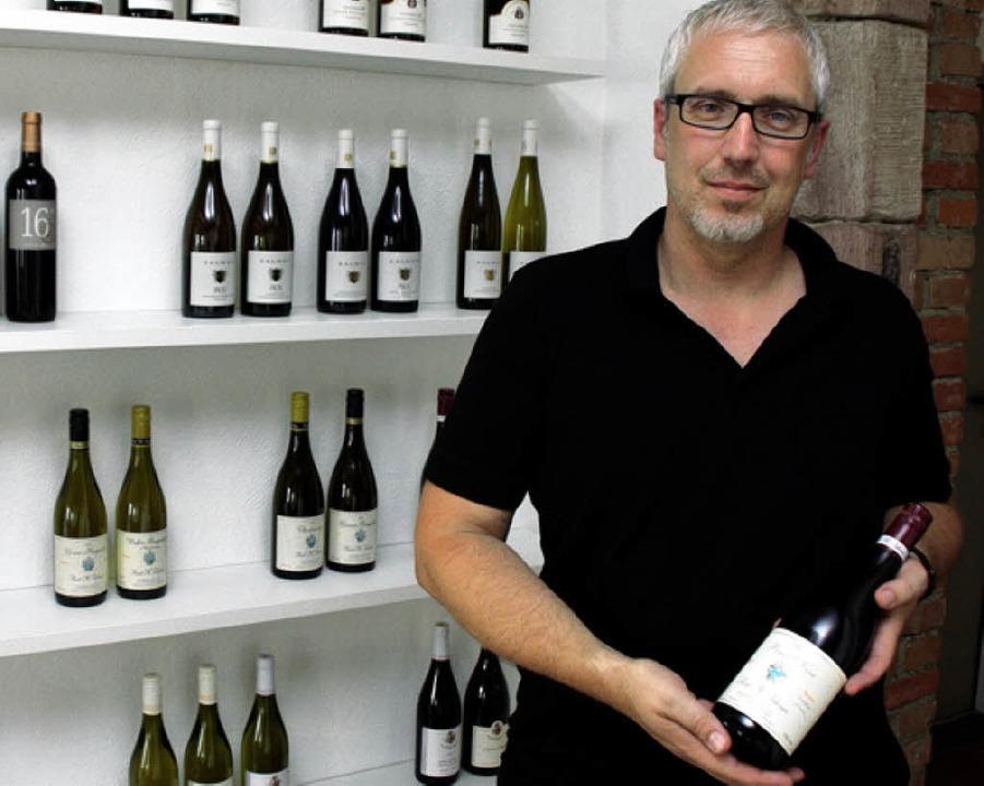 Oliver Haag eröffnet am Freitag sein W...er Dielenmarktstraße 16 in Endingen.      Foto: Wendel