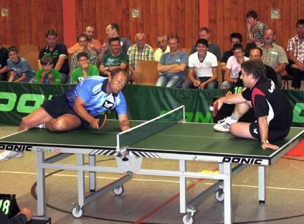 Tischtennisshow Bahlingen anlässlich des Jubliäums des TTC  | Foto: Andreas Schmieg