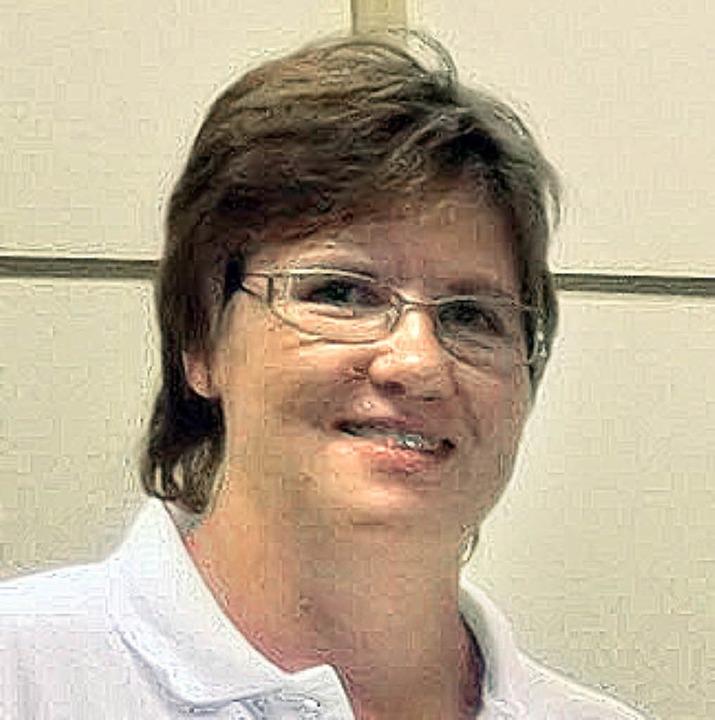 Die Vorsitzende Heike Reinke gehört sc...n aktiv dem Deutschen Roten Kreuz an.   | Foto: D. Fink