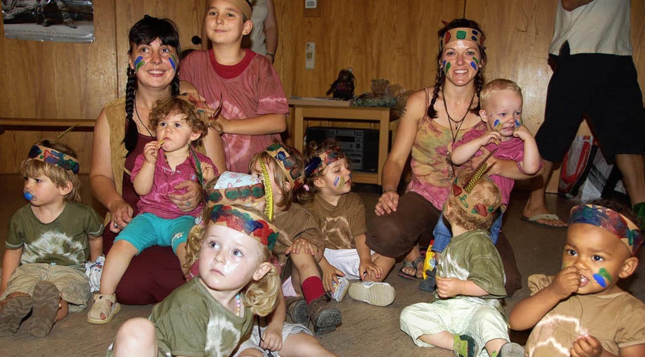 Indianerfest im Kindergarten Sternschnuppe  | Foto: Andrea Steinhart