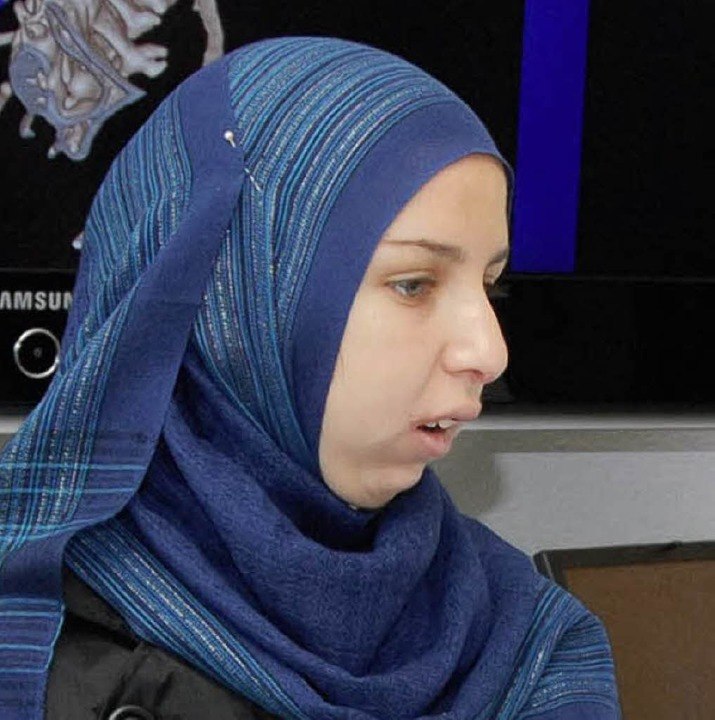 Mona Sayed vor drei Jahren    Foto: Universitätsklinikum