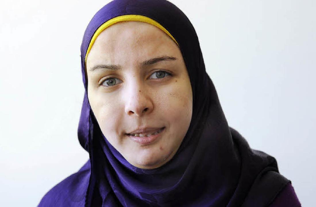 Mona Sayed kann jetzt deutlich sprechen.     Foto: ingo schneider/ Uniklinik