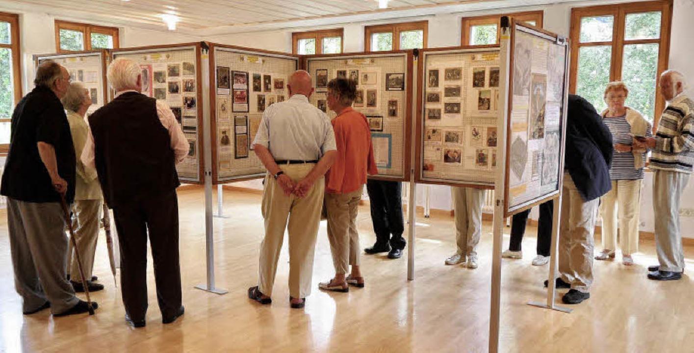 Viele Interessierte durchstreiften am Wochenende die  Hebel-Sonderausstellung.   | Foto: Sigurd Kaiser